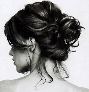 messy bun: Up Dos, Messy Hair, Prom Hair, Messy Buns, Hair Style, Promhair, Updo, Curly Hair, Hair Buns
