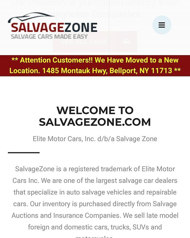 Check Out Our Friends At Salvagezone Com Salvagezone Is A