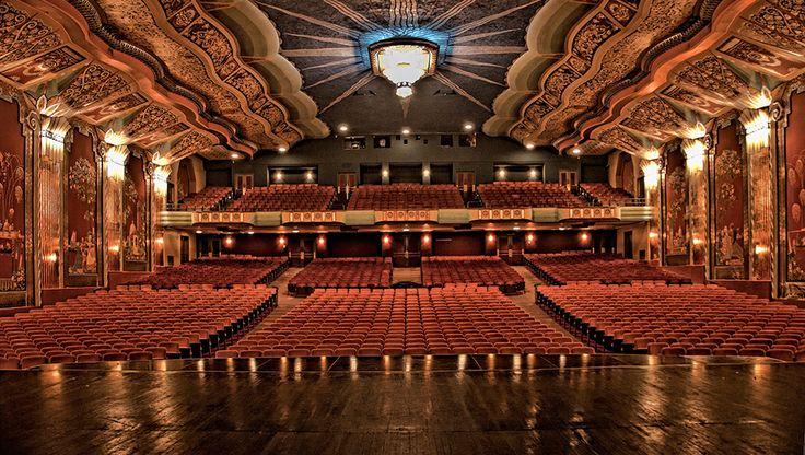 Paramount Theater, Oakland, CA | ART DECO | Pinterest