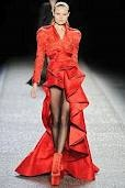 Vestido largo rojo: Nina Ricci, Flamenco Dresses, Fashion, Red, Style, Color, Posts, Fall Winter, Haute Couture