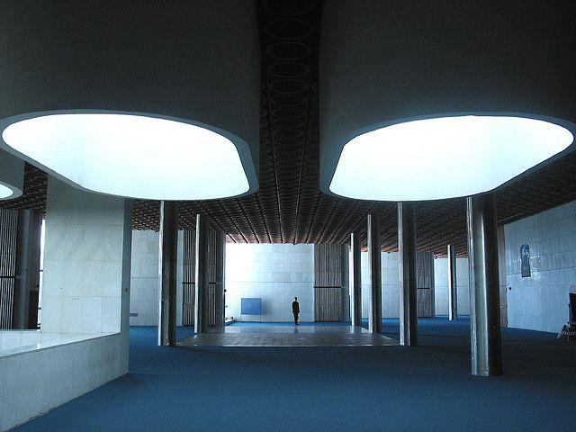 Dom Odborov (Trade Union House), Bratislava   Architects: Ferdinand Konček,  Iľja Skoček, Ľubomír Titl
