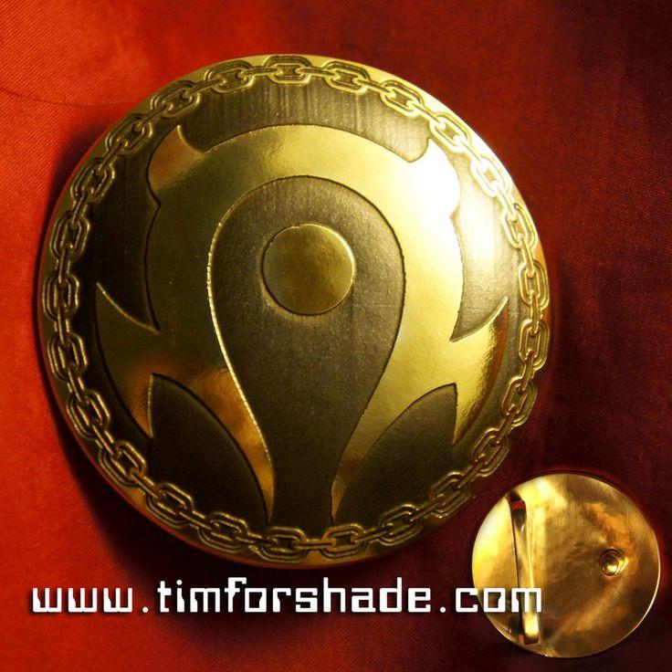 Horde Orc Warcraft Belt brass buckle vol.2 by TimforShade on DeviantArt