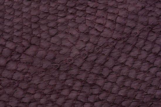 Fish leather: salmon (matt finish)