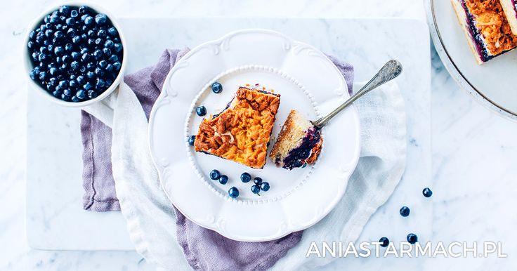 Ciasto z jagodami i kruszonką | Ania Starmach