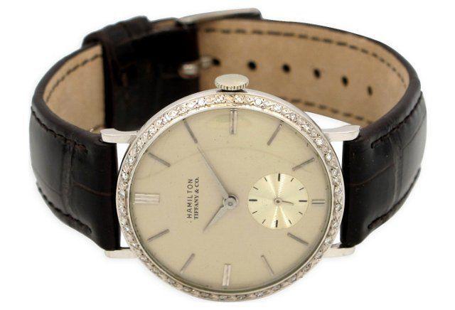 Hamilton/Tiffany 14K Watch, 1942