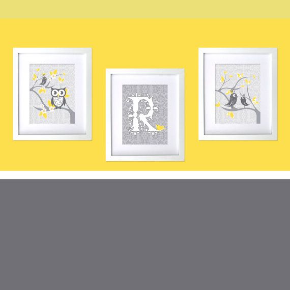 Yellow And Gray Wall Decor 39 best kids wall decor images on pinterest | babies nursery, kids