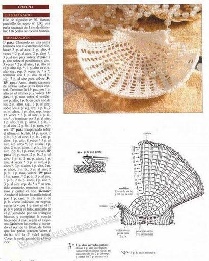 Muschel häkeln - crochet shell