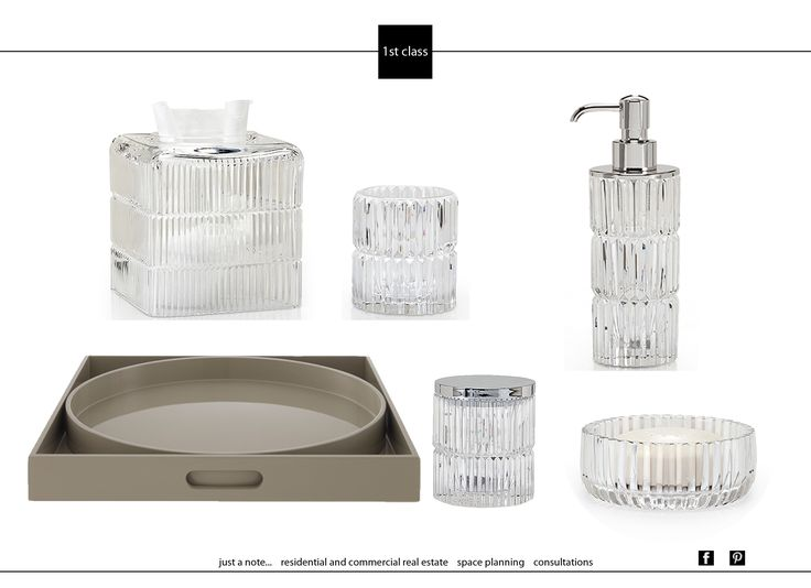 Аксессуары для ванной комнаты. Наш выбор. Accessories for bathroom. Our choice. #1stclass #decoration #interiordesign #realestate #интерьер #проект #apartament #details