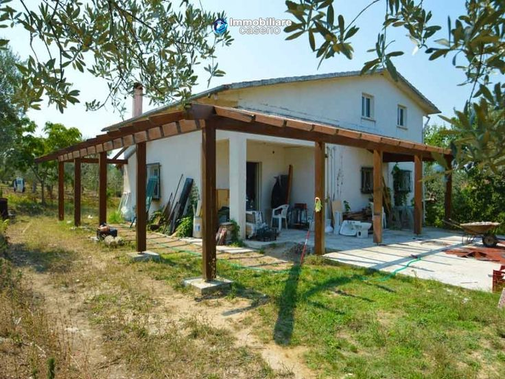 House with sea view, olive trees for sale near Nature Reserve of Punta Aderci.