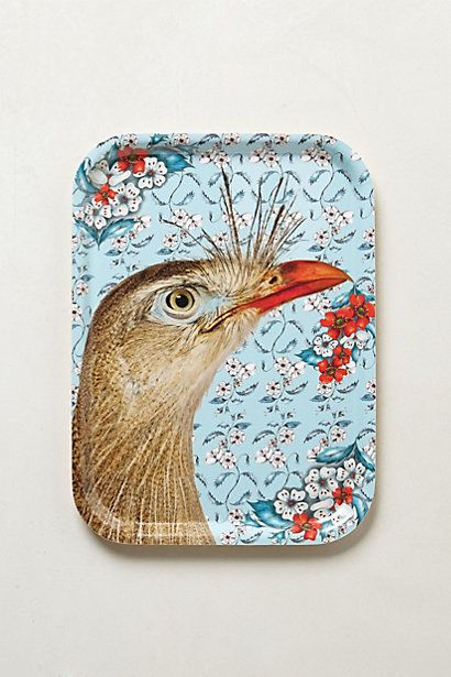 Love this birch wood tray from #Anthropologie