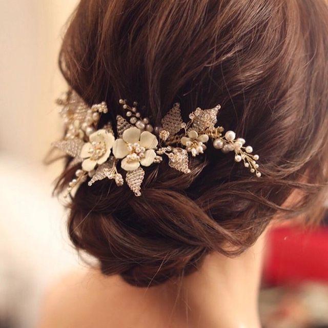 The 64 Best Wedding Hair Inspiration Images On Pinterest Back