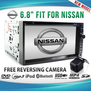 NISSAN In Dash CAR GPS DVD Player Stereo Radio Navara Pathfinder X-TRAIL Patrol