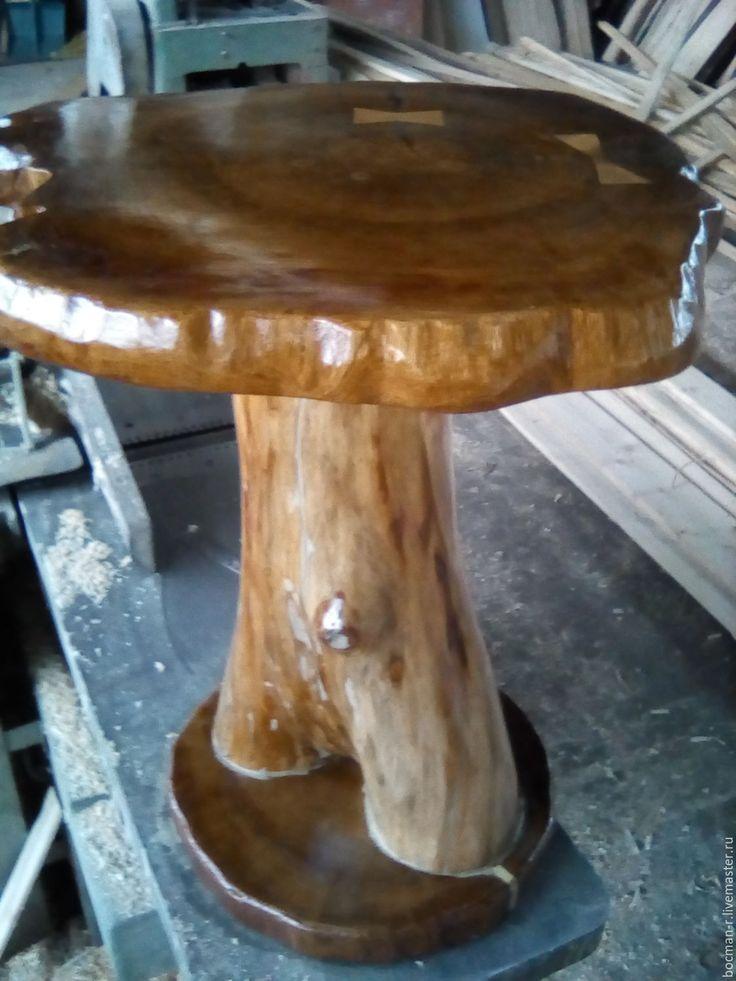"""Купить Журнальный столик """"Венера"""" из дубового корня - столик ручной работы, журнальный столик"""