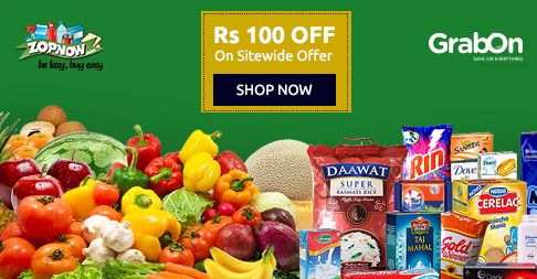 Order Your #Groceries In One Click! #Zopnow Presents Flat Rs.100 OFF On Min. Order Rs.1000 sitewide - http://www.grabon.in/zopnow-coupons/