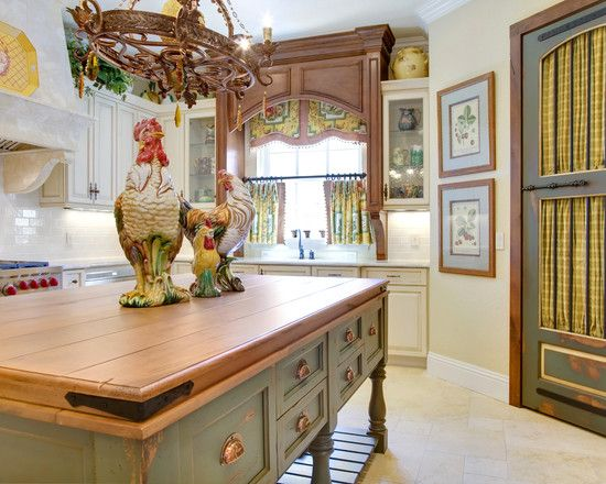 pictures of french country kitchens | French Country Kitchen Countertop