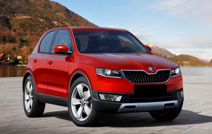 2016 Skoda Snowman engine's, it will be equipped with both one TDI diesel and two TSI petrol engines...The new Skoda SUV release date will be during the... #2016SkodaSnowman #skoda