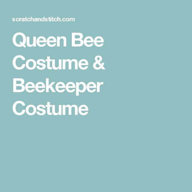Queen Bee Costume & Beekeeper Costume