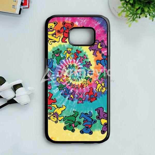 Grateful Dead Dancing Bears Samsung Galaxy S7 Edge Case   armeyla.com
