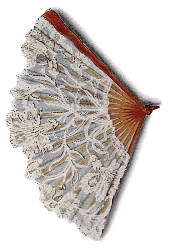 french ephemera lace-hand-fan