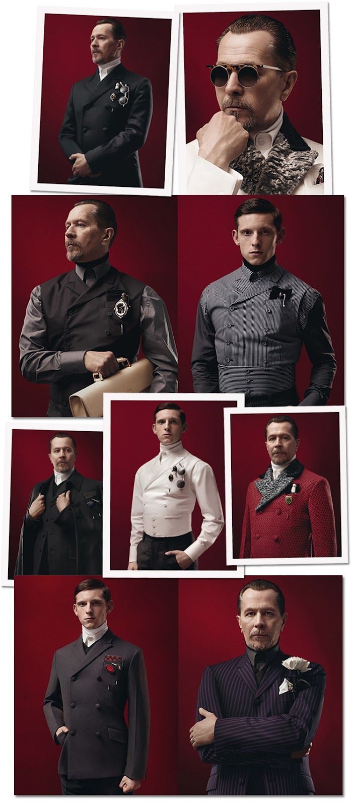 Prada's Fall/Winter 2012 Menswear Collection: For when it is essential you look like an Austrian Archduke