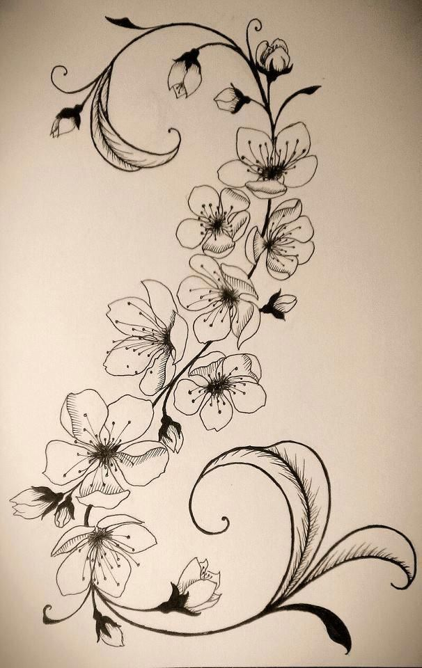 140 Schonste Kirschbluten Tattoos Und Deren 3