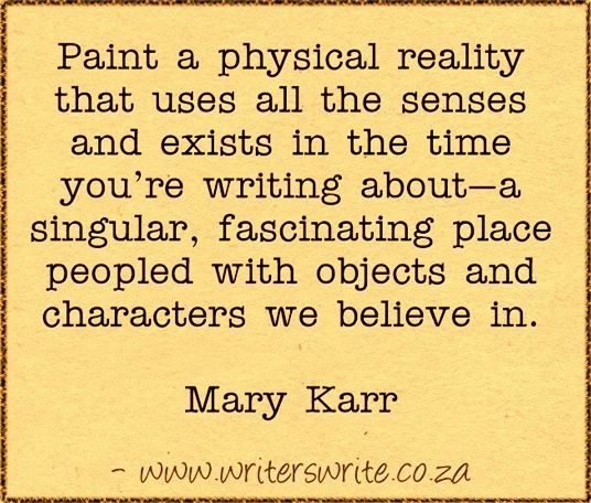 Quotable - Mary Karr - Writers Write Creative Blog