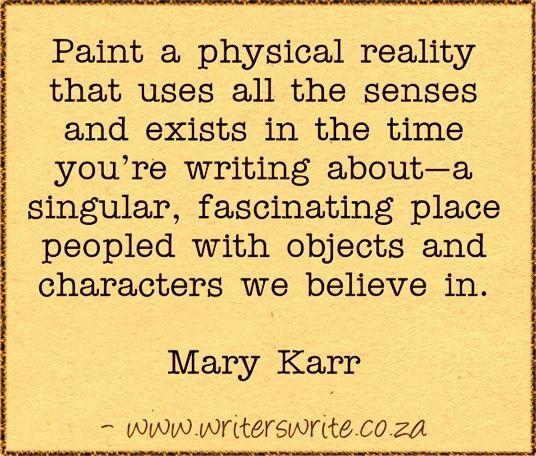 Quotable - Mary Karr - Writers Write Creative Blog