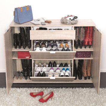 Attractive CREATIVE FURNITURE Colorida 18 Shoe Cabinet. It Looks Great When All The  Doors Are Closed