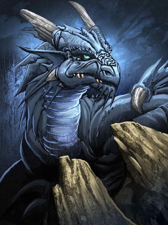 Dibujos de Dragones para Tatuajes Hombres dragon plateado