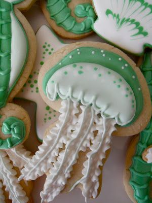 .Oh Sugar Events: Nautical Sea Foam Cookies