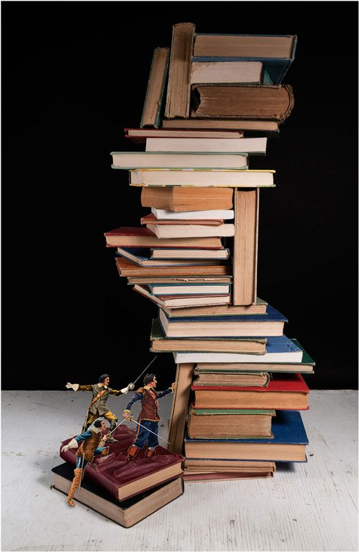 Brilliant Book Art by Thomas Allen «TwistedSifter