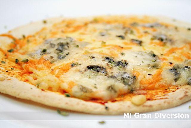 Mi Gran Diversión: Pizzas rápidas con tortitas Mexicanas (Fajitas)