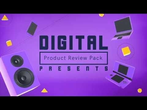 "After effects intro template ""Digital Product Review Pack"""