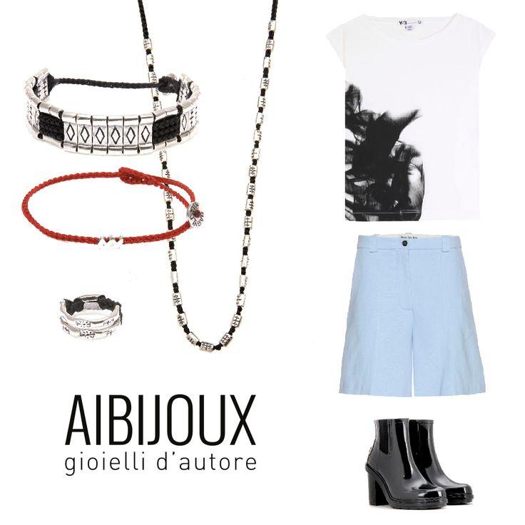 #AIBIJOUX #Babyloniagioielli #outfits #fashionjewelry #ilnostrooutfit #Acne #Y3 #gioiellidautore #bijoux #finesilverjewelry