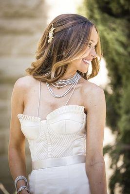 Vintage-Inspired Bridal Jewlery    Photography: Marc Royce Photography   Read More:  http://www.insideweddings.com/weddings/courtney-bingham-and-nikki-sixx/573/