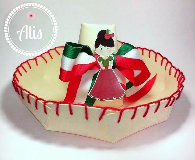 Alis Scrap: Compartiendo tutoriales en S12PPNP: Celebraciones mexicanas - sombrero mexicano