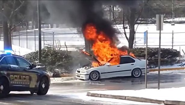 Parked BMWs spontaneously going up in flames - despite engines being off for hours or even days │ An investigation found more than 40 cars caught on fire in the last five years - despite some being parked for days
