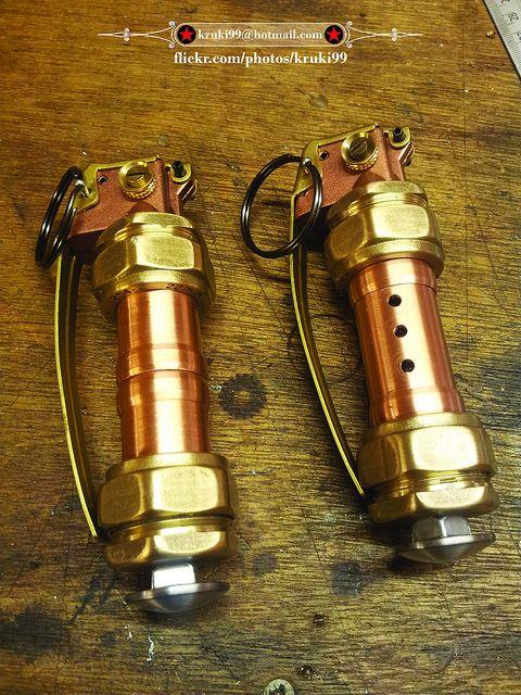 Steampunk grenades 001 | Flickr - Photo Sharing!