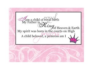 A Princess Am I: YW Manual 3 Lesson #39 Recognizing Our Individual Worth