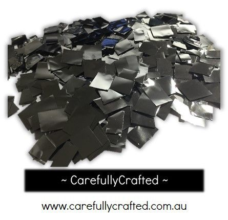 CarefullyCrafted - 25 Grams Tissue Foil Confetti - Silver - 0.25 inch Squares  - party, wedding, wedding planning, confetti, celebration, foil, squares, party fun, decoration, event, décor, event décor  http://carefullycrafted.com.au/25-grams-tissue-foil-confetti-silver-0-25-inch-squares-cs7/