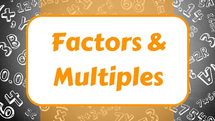 17 best images about Multiples and Factors/Prime and Composite/Square ...