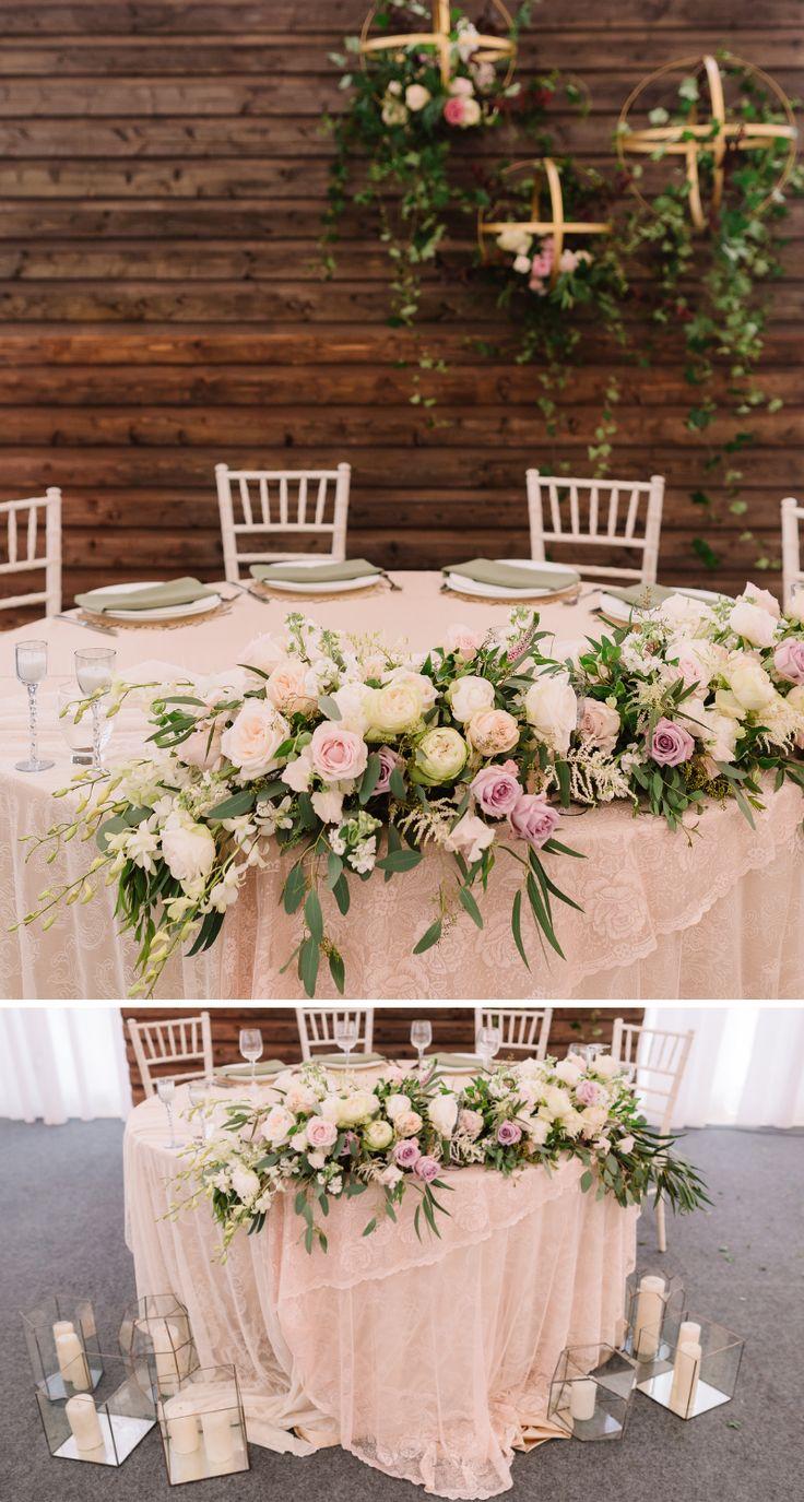 35 besondere Brauttisch Deko-Ideen