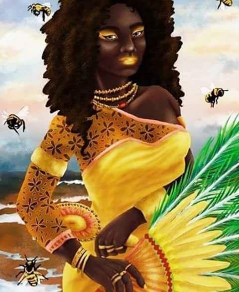 Toda doçura de Oxum vem do seu amor incondicional por seus filhos, por eles ela chora, por eles ela briga, Oxum é assim puro doce, puro mel. Ora ye yeô