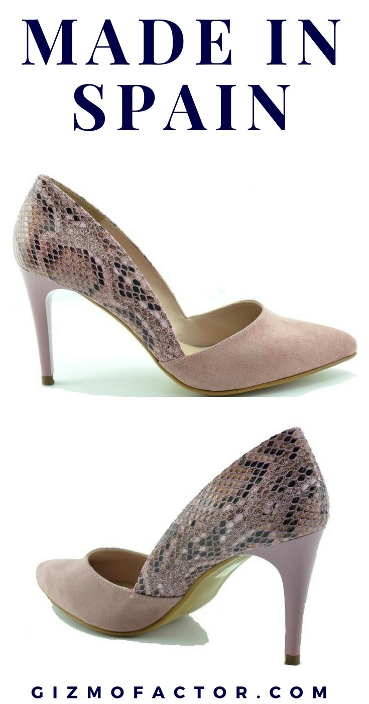 Pumps 100% made in Spain. Upgrade your heel collection. Free shipping both  ways