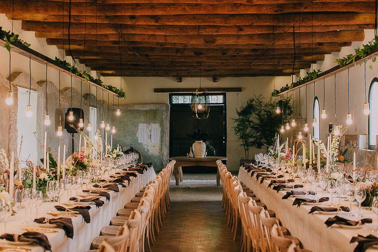 Love this rustic wedding venue.Featured in my list of favourite wedding venues >>  http://michelledt.com/wedding-venues-1/