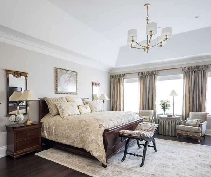 The High End Fabrics And Furnishings Are A Reflection Of Homeowners Love Quality Design