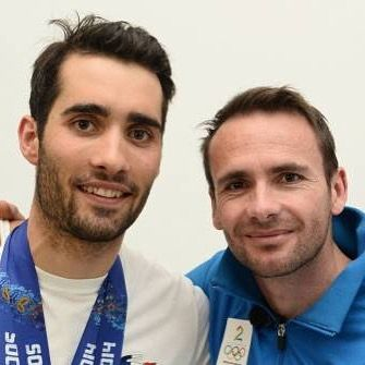 Martin Fourcade et Raphaël Poiret #lesroisdubiathlon❤️