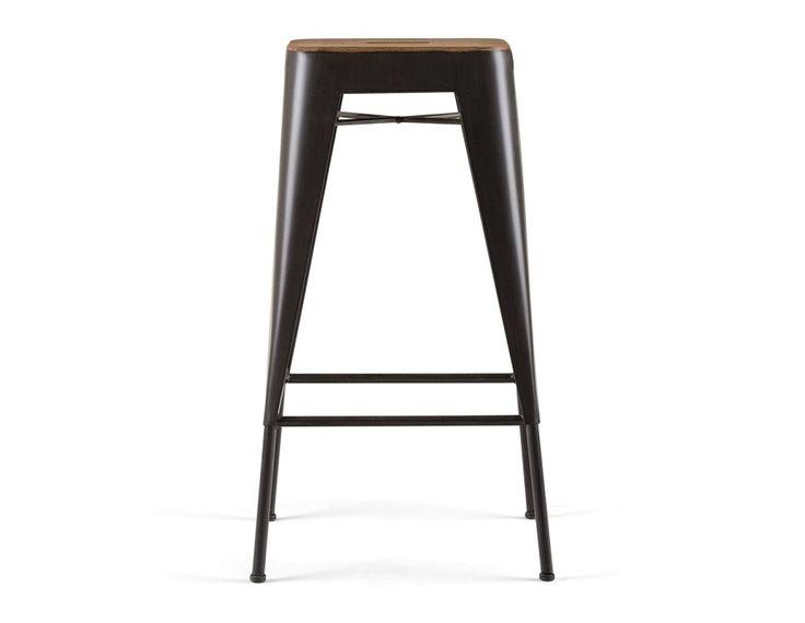 CETTA - Counter stool 27.5'' - Dark Brown