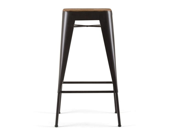 CETTA - Counter stool 27.5'' - Dark Brown