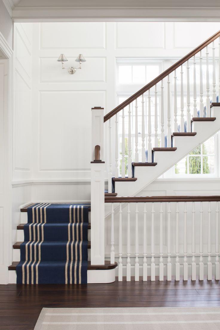 Coastal Style: Classic Navy & Brown | Hamptons Style